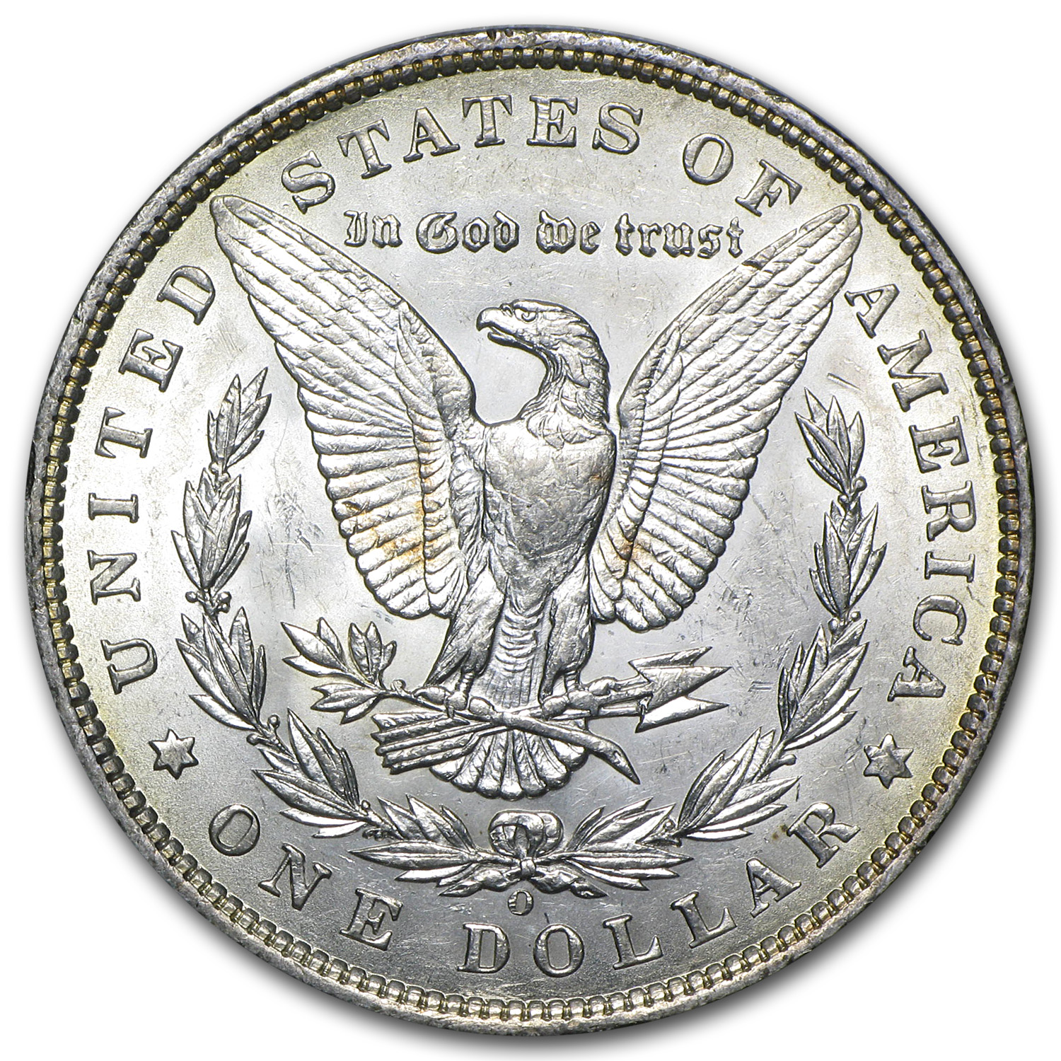 1897-O Morgan Dollar AU-58